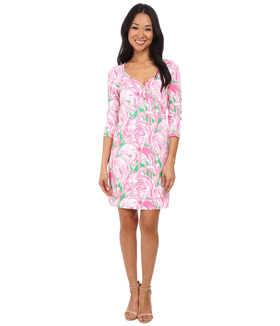 Lilly Pulitzer - Palmetto Dress (Prep Green Pink Colony) Women's Dress