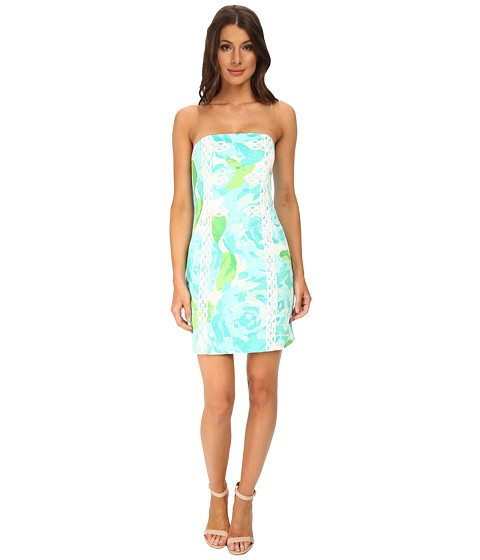 Lilly Pulitzer - Tansy Dress (Poolside Blue First Impression) Women's Dress