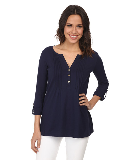 Lilly Pulitzer - Dorothy Top (True Navy) Women