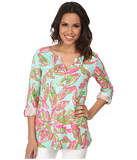 Lilly Pulitzer - Dorothy Top (Multi in the Vias) Women's Clothing