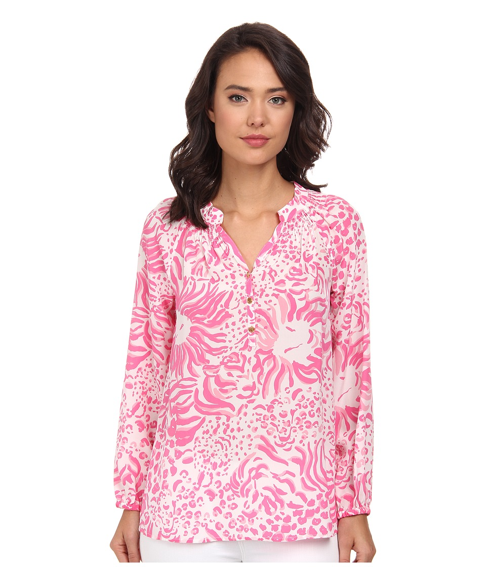 Lilly Pulitzer - Elsa Top (Resort White Get Spotted) Women's Blouse