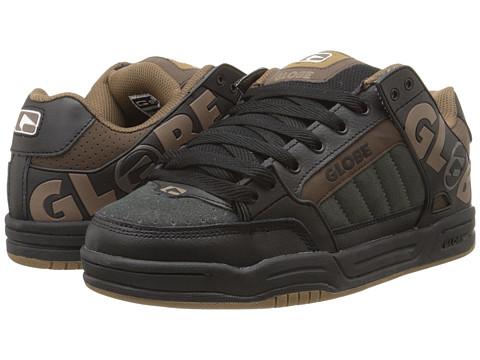 Globe - Tilt (Black/Brown TPR) Men's Skate Shoes