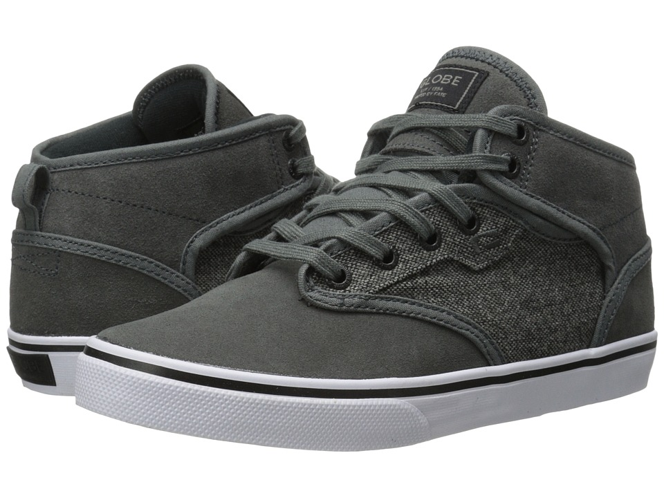 Globe - Motley Mid (Charcoal/Tweed) Men's Skate Shoes