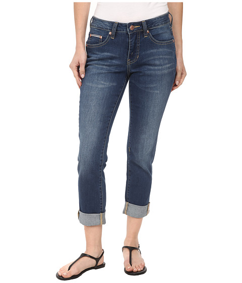 Jag Jeans Petite - Petite Henry Relaxed Boyfriend in Forever Blue (Forever Blue) Women's Jeans
