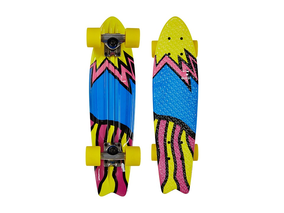 Globe - Bantam ST Graphic (Kapow) Skateboards Sports Equipment