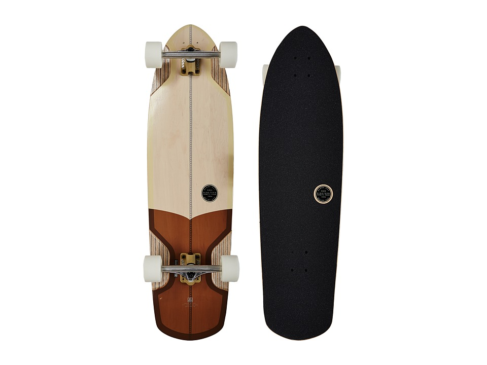 Globe - Stubby V-Ply (Off White/Brown) Skateboards Sports Equipment