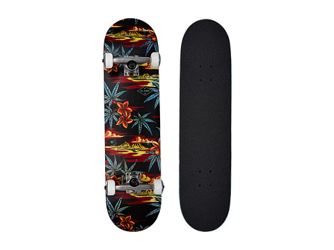 Globe - Full On (Black/Red/Pakalolo) Skateboards Sports Equipment