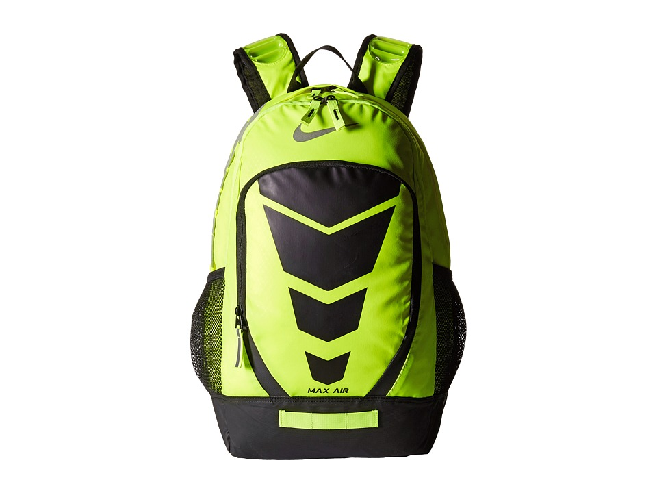 Nike - Max Air Vapor Backpack Large (Volt/Black/Metallic Silver) Backpack Bags