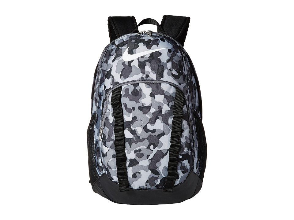 Nike - Brasilia 7 Backpack Graphic XL (Cool Grey/Black/White) Backpack Bags