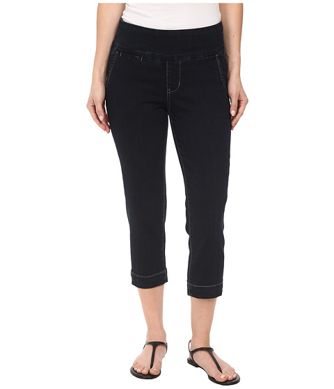 Jag Jeans Petite - Petite Hope Pull-On Crop Slim Fit in After Midnight (After Midnight) Women's Capri
