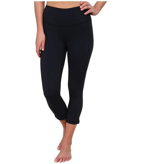 Lucy - Perfect Core Capri Legging (Ultramarine Heather 1) Women's Capri