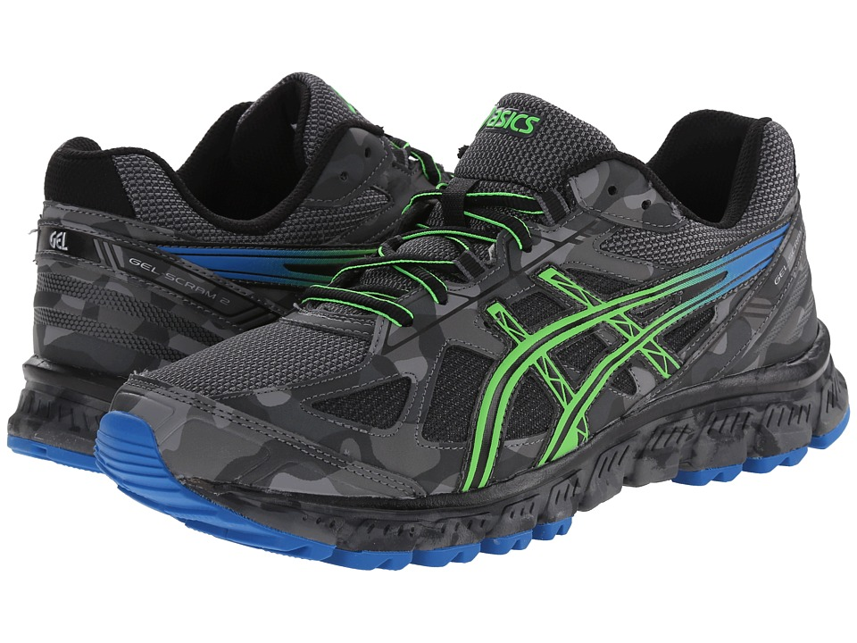 ASICS - GEL-Scram 2 (Carbon/Electric Blue/Black) Men's Running Shoes