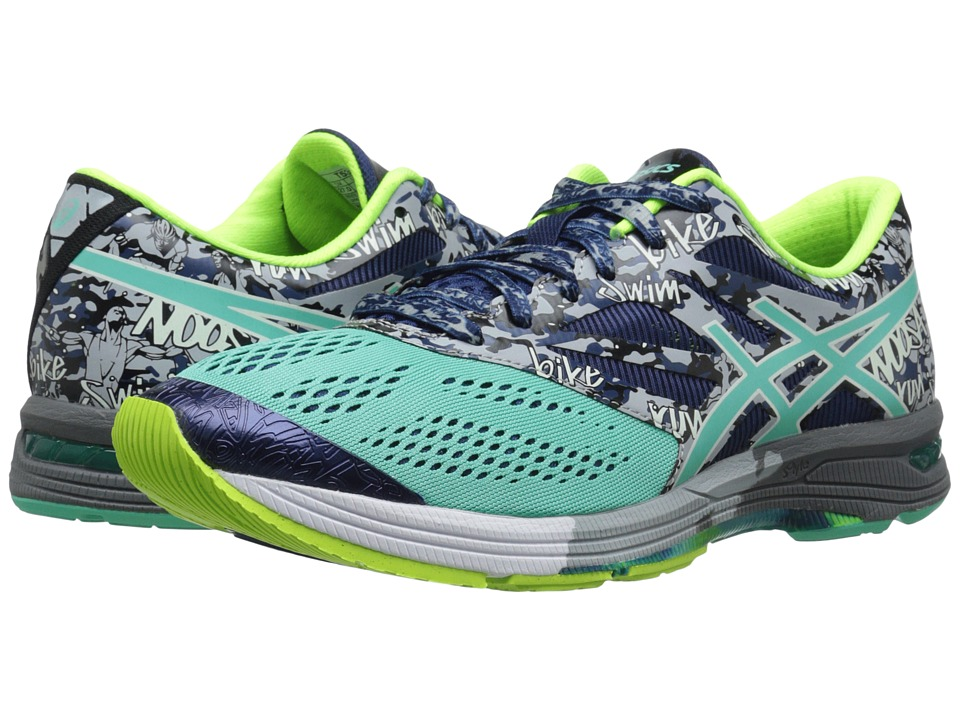 ASICS - Gel-Noosa Tri 10 (Aqua Mint/Indigo/Bermuda) Men's Running Shoes
