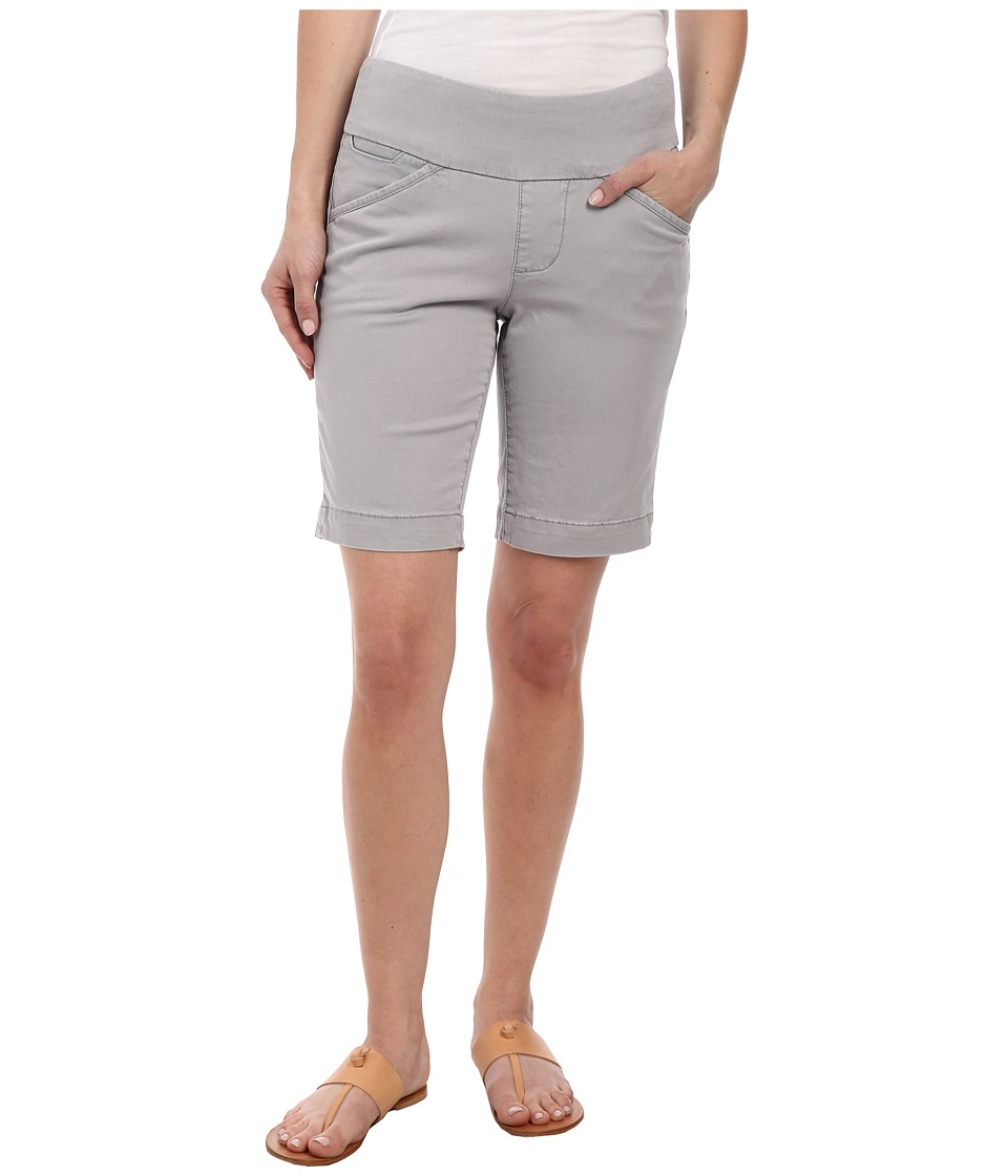 Jag Jeans Petite - Petite Ainsley Pull-On Classic Fit Bermuda Bay Twill (Grey Morn) Women's Shorts