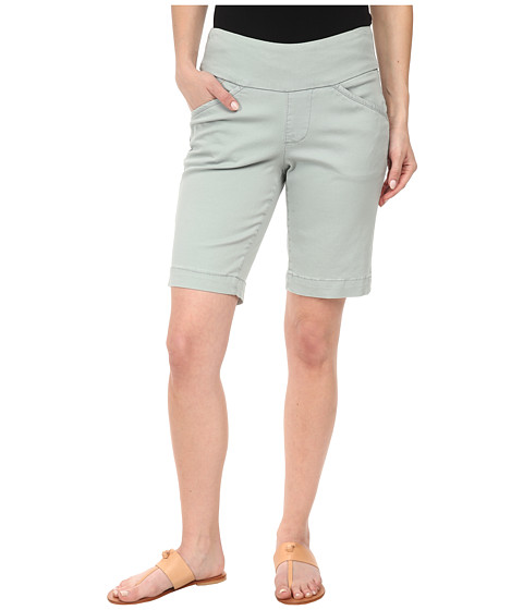 Jag Jeans Petite - Petite Ainsley Pull-On Classic Fit Bermuda Bay Twill (Sea Glass) Women's Shorts