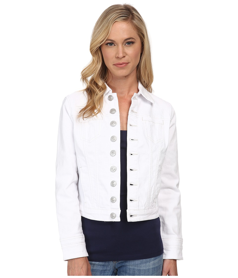 Jag Jeans Petite - Petite Savannah Ted Jacket in White (White) Women's Jacket