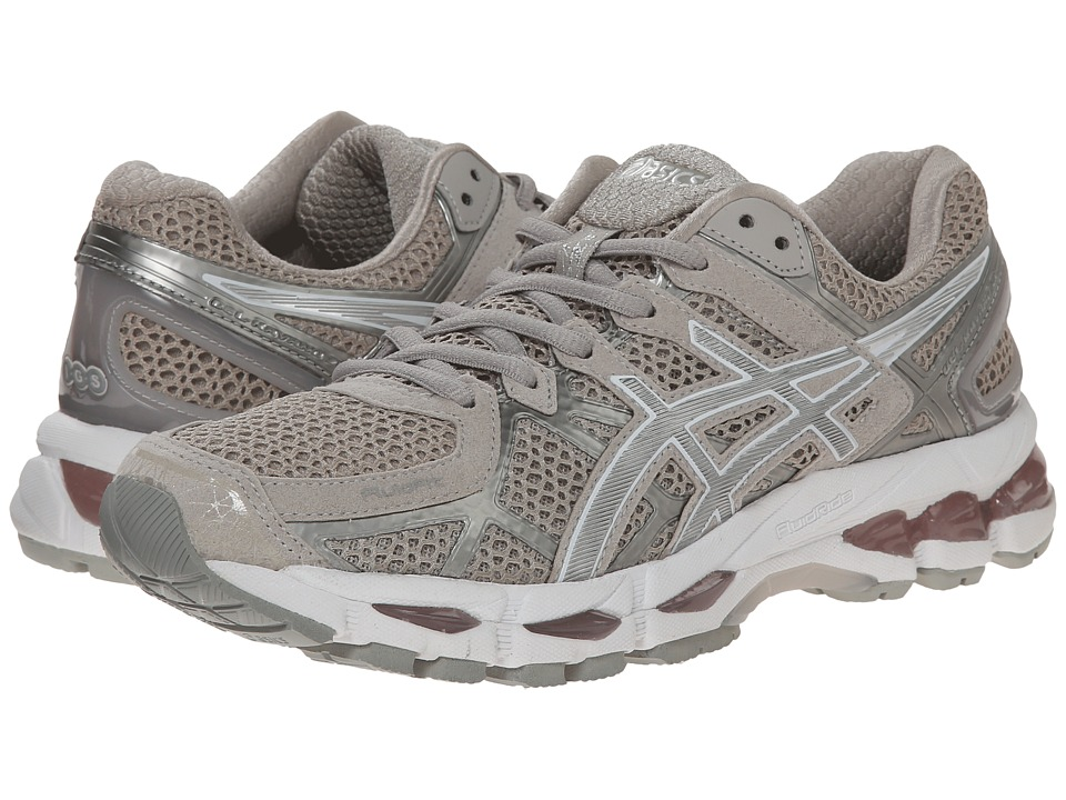 ASICS - GEL-Kayano 21 (Vanilla Ice/Silver/White) Women's Running Shoes