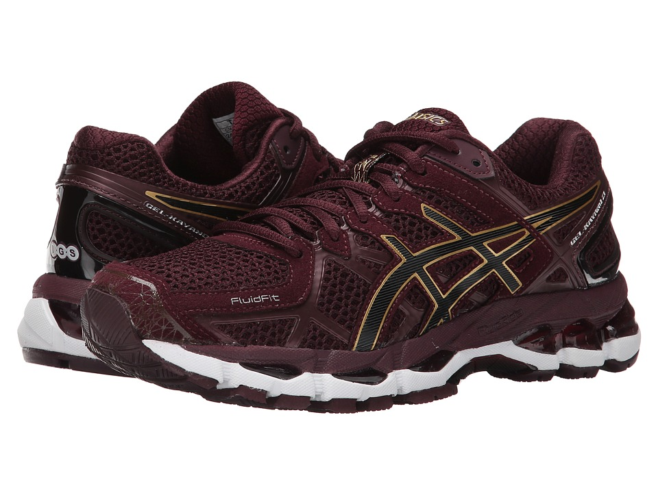 ASICS - GEL-Kayano 21 (Plum/Gold/Plum) Women's Running Shoes