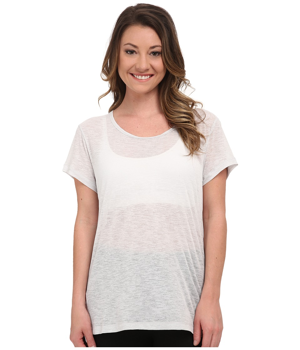 Lucy - Girls Best Friend Burnout Short Sleeve Tee (Dove Grey) Women