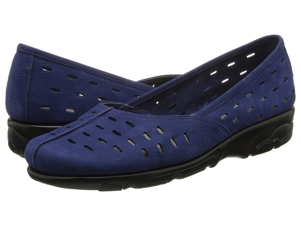 Aerosoles - Utmost (Dark Blue Nubuck) Women's Slip on Shoes