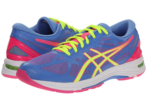 ASICS - GEL-DS Trainer 20 (Powerder Blue/Hot Pink/Black) Women's Running Shoes