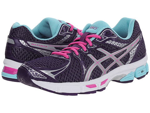 ASICS - GEL-Exalt 2 Lite-Show (Blackberry Cordial/Silver/Aqua Splash) Women's Running Shoes