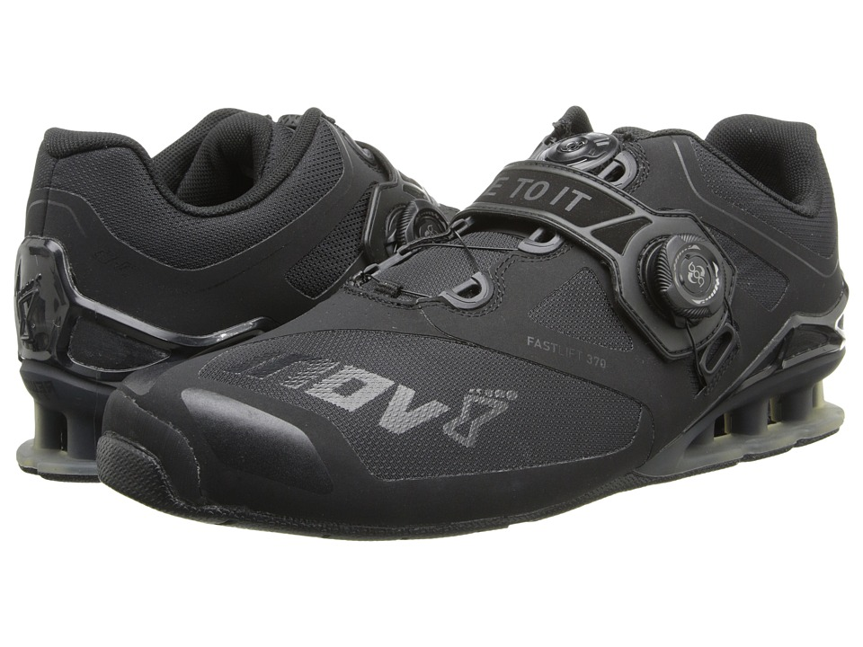 inov-8 - FastLift 370 (Black) Men's Running Shoes