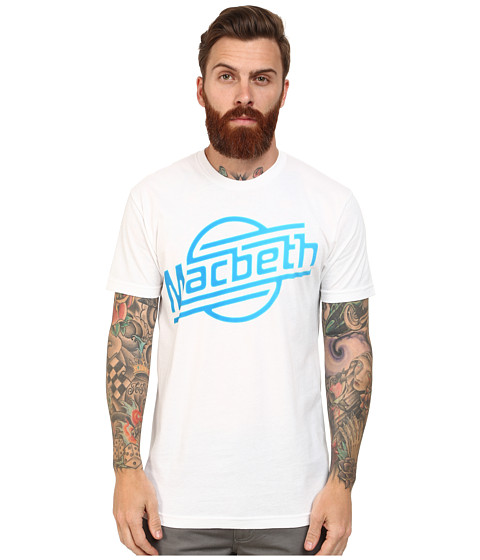 Macbeth - Strokes Tee (White/Gradient) Men's T Shirt