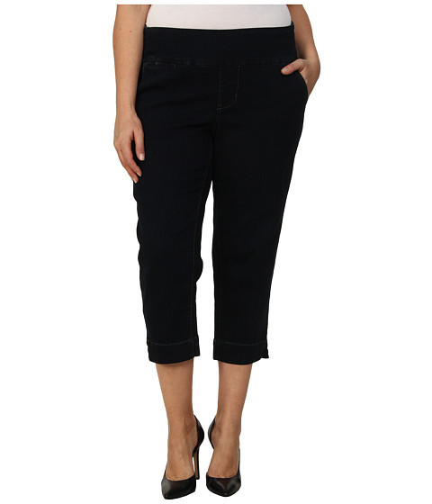Jag Jeans Plus Size - Plus Size Hope Pull-On Crop Narrow Fit in After Midnight (After Midnight) Women's Jeans