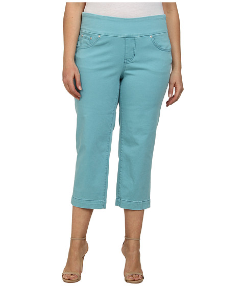 Jag Jeans Plus Size - Plus Caley Pull-On Crop Classic Fit in Surf (Surf) Women