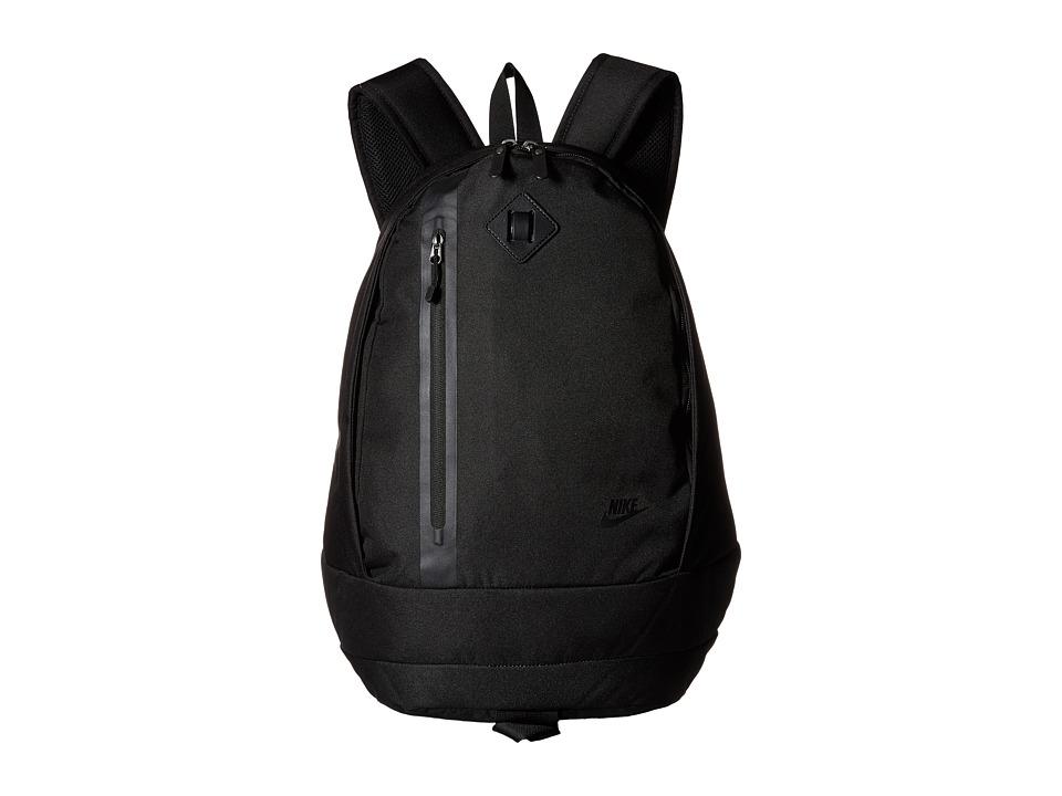 Nike - Cheyenne 2015 (Black/Black/Silver) Backpack Bags