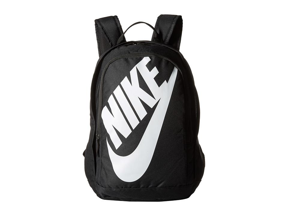 Nike - Hayward Futura M 2.0 (Black/Black/White) Backpack Bags
