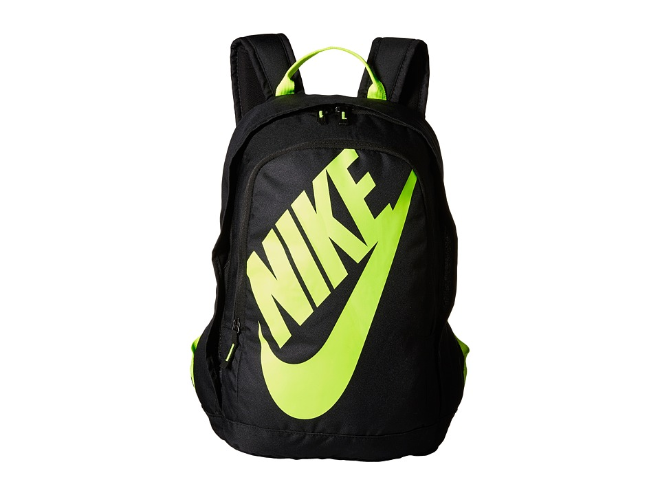 Nike - Hayward Futura M 2.0 (Black/Black/Volt) Backpack Bags