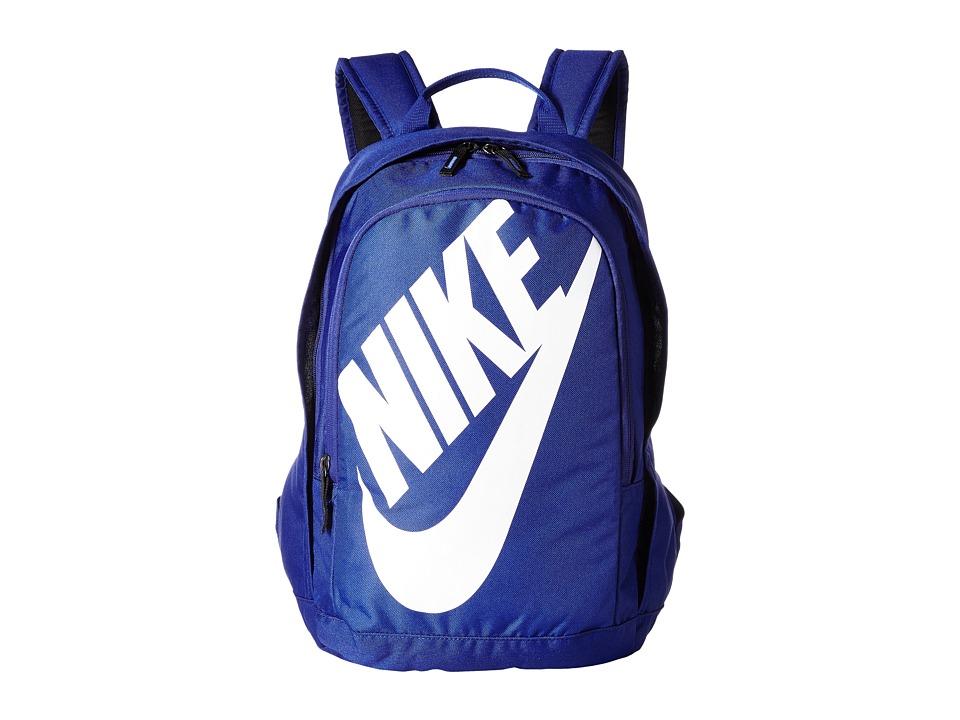 Nike - Hayward Futura M 2.0 (Deep Royal Blue/Deep Royal Blue/White) Backpack Bags