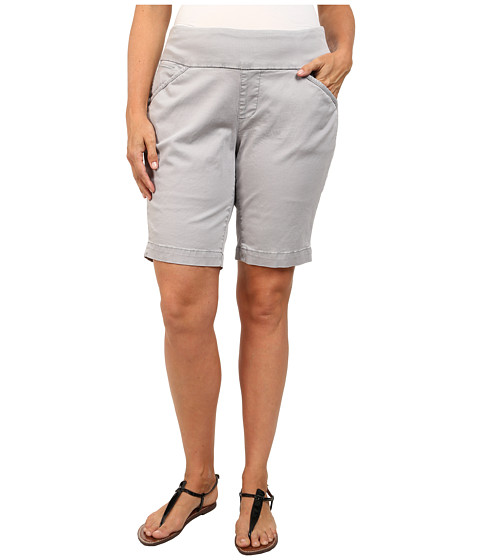 Jag Jeans Plus Size - Plus Size Ainsley Classic Fit Bermuda Bay Twill in Grey Morn (Grey Morn) Women's Shorts