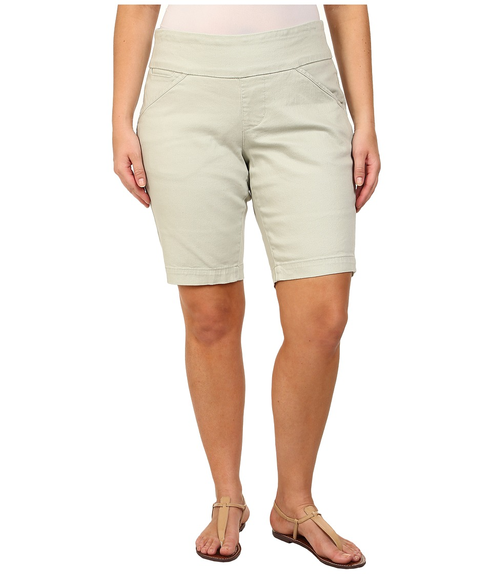 Jag Jeans Plus Size - Plus Size Ainsley Pull-On Classic Fit Bermuda in Canvas Cloth (Canvas Cloth) Women's Shorts
