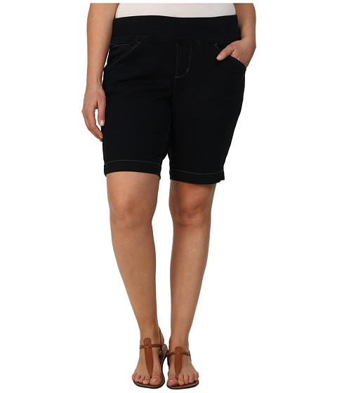 Jag Jeans Plus Size - Plus Size Ainsley Pull-On Classic Fit Bermuda in After Midnight (After Midnight) Women