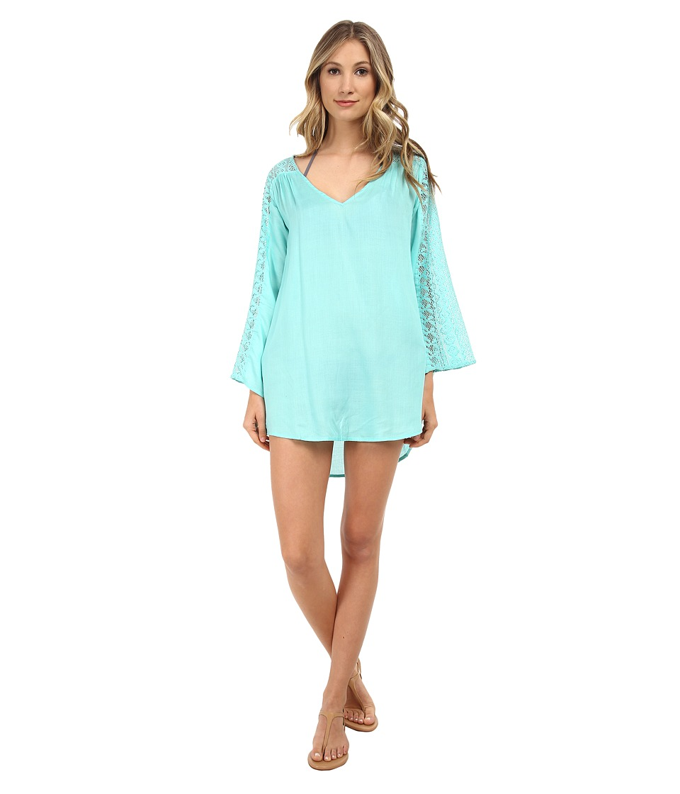 O'Neill - Eva Cover-Up (Light Aqua) Women's Swimwear