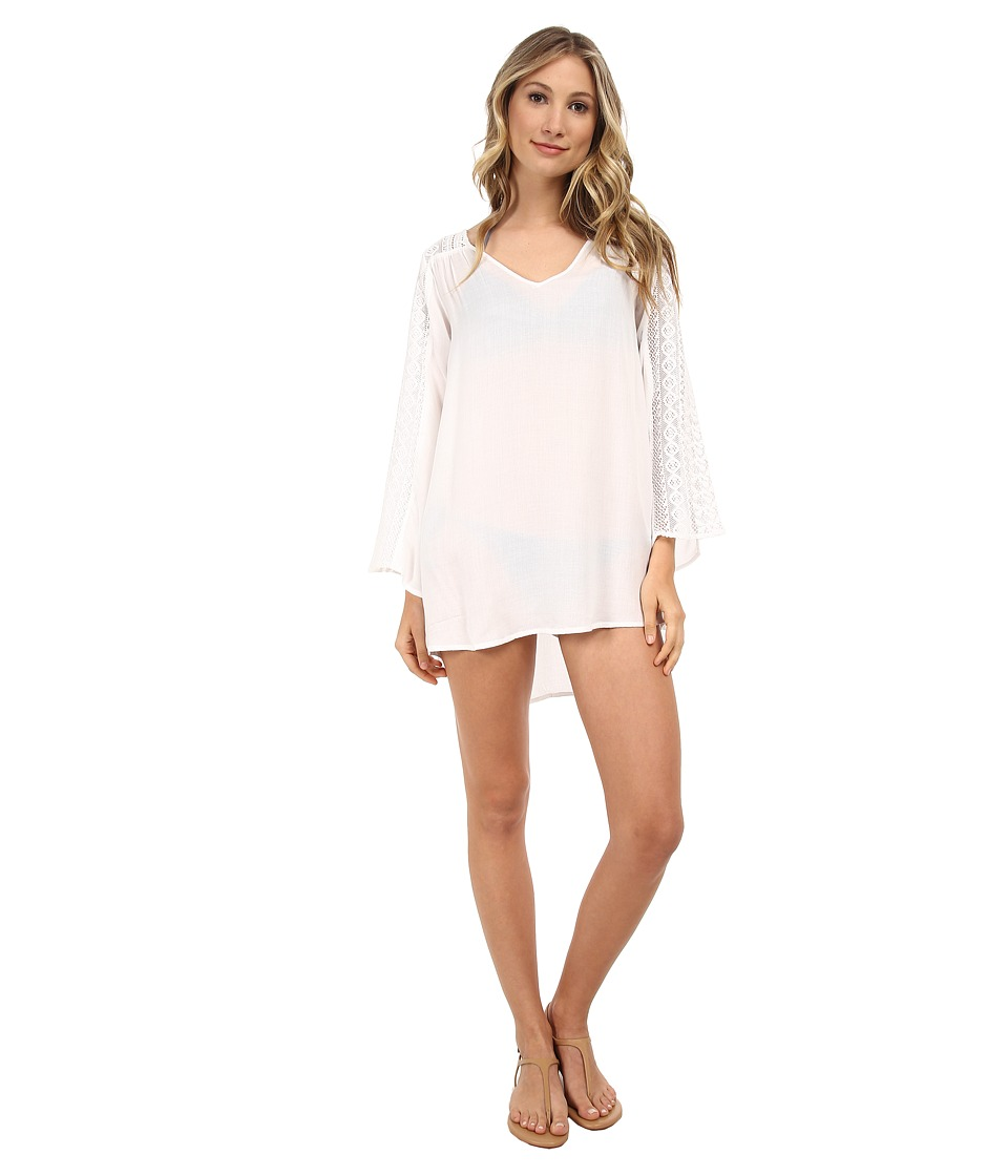 O'Neill - Eva Cover-Up (White) Women's Swimwear