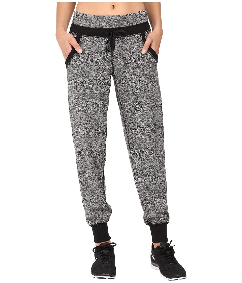Lucy - Girls Best Friend Sweatpants (Lucy Black Heather) Women's Casual Pants
