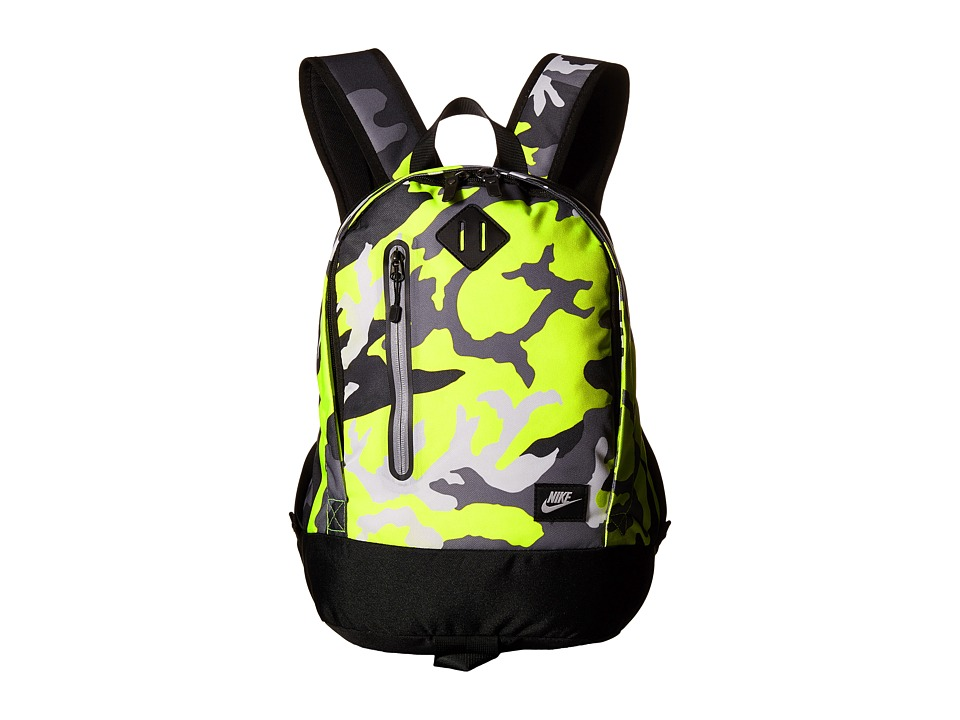 Nike - Young Athletes Cheyenne Backpack (Volt/Black/Matte Silver) Backpack Bags
