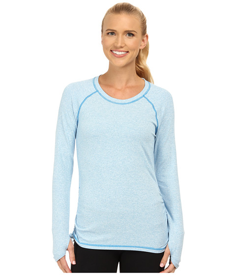 Lucy - Dashing Stripes L/S Top (Bright Blue Stripe) Women's T Shirt