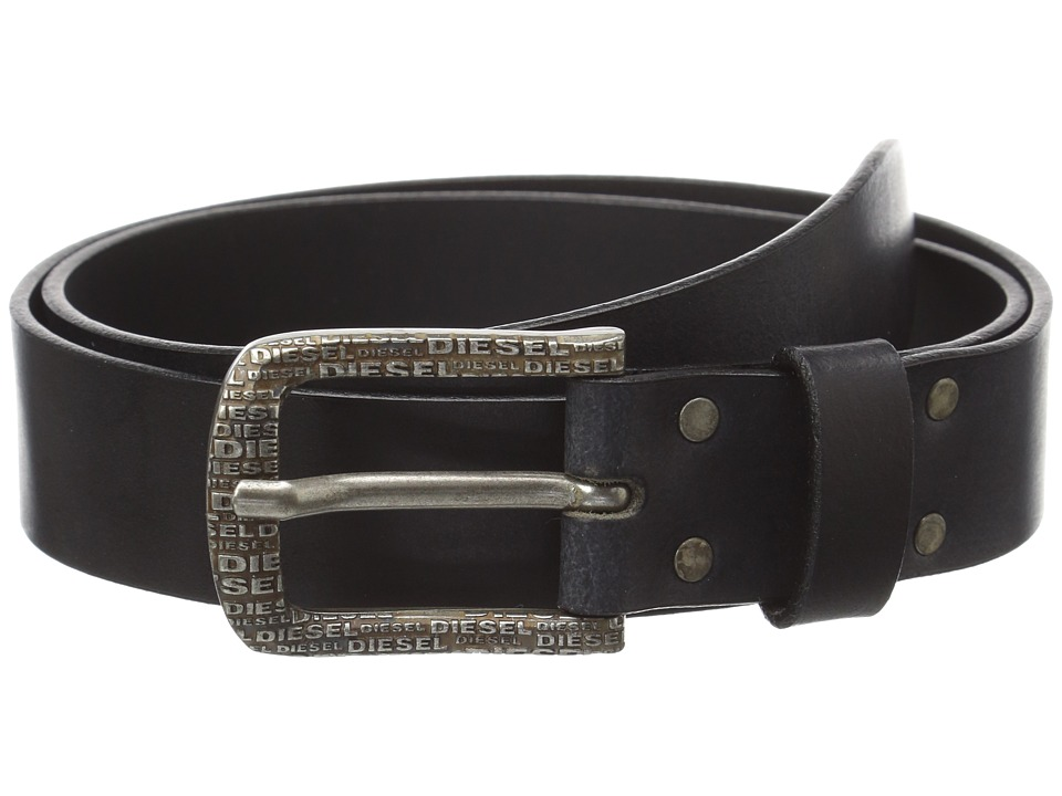 Diesel - 00SG4G 0AAJC Brontix-Pack Belt (Black) Men's Belts
