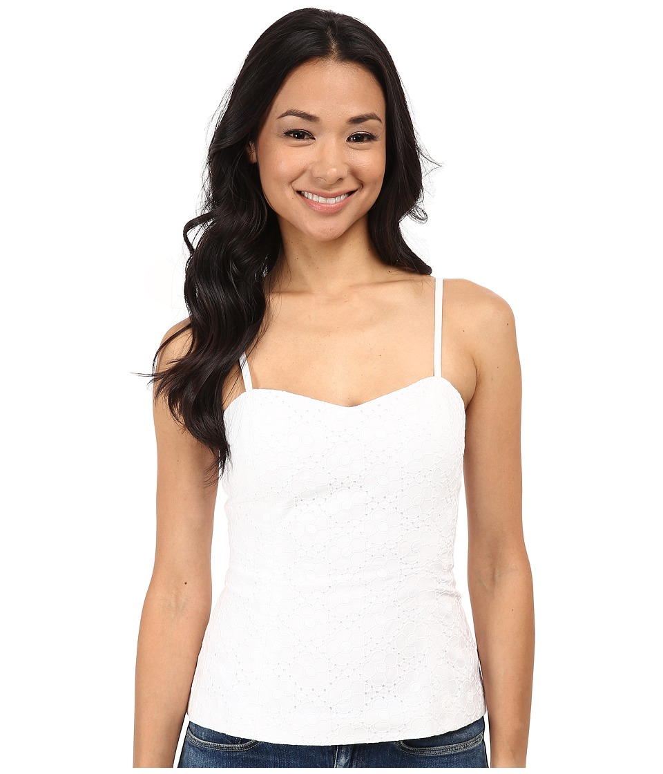 Lilly Pulitzer - McCallum Top (Resort White Daisy Eyelet) Women's Clothing