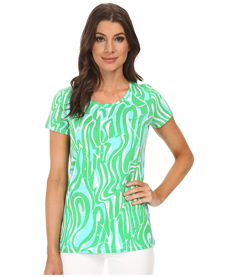 Lilly Pulitzer - Karrie Top (Resort White Finders Keepers) Women