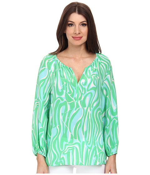 Lilly Pulitzer - Sarabeth Top (Resort White Finders Keepers) Women's Clothing