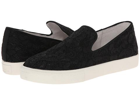 ASH - Illusion (Black Flower Lace) Women's Slip on Shoes