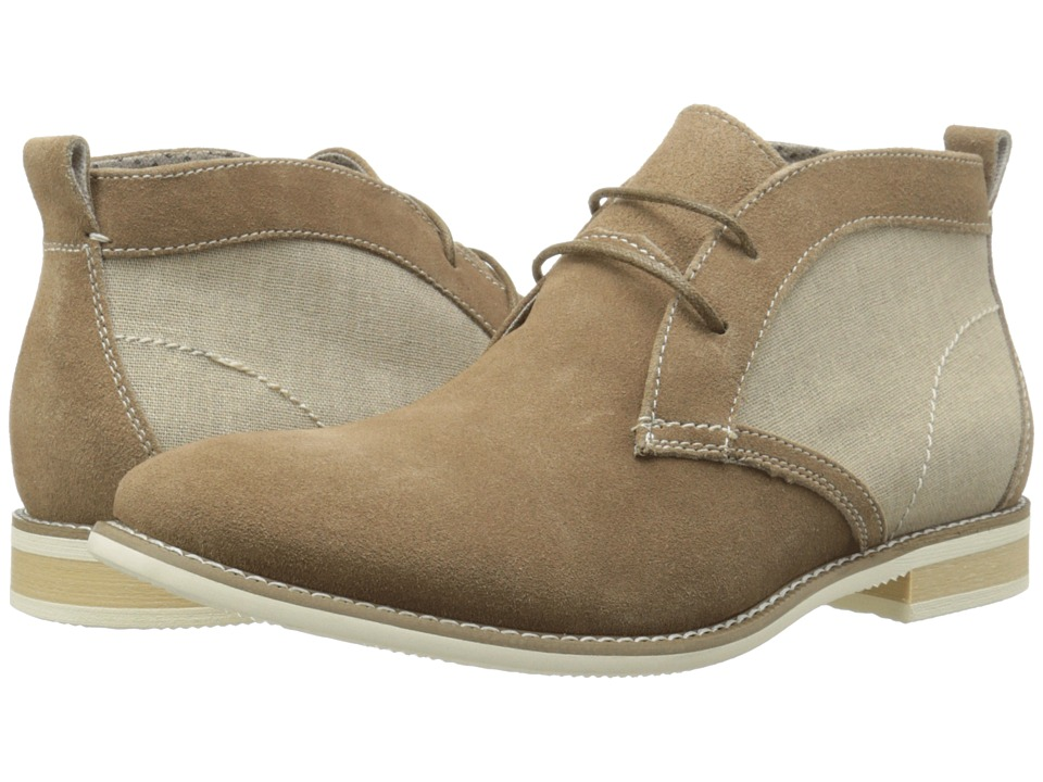 Steve Madden - Saxxen (Camel Suede) Men's Lace up casual Shoes