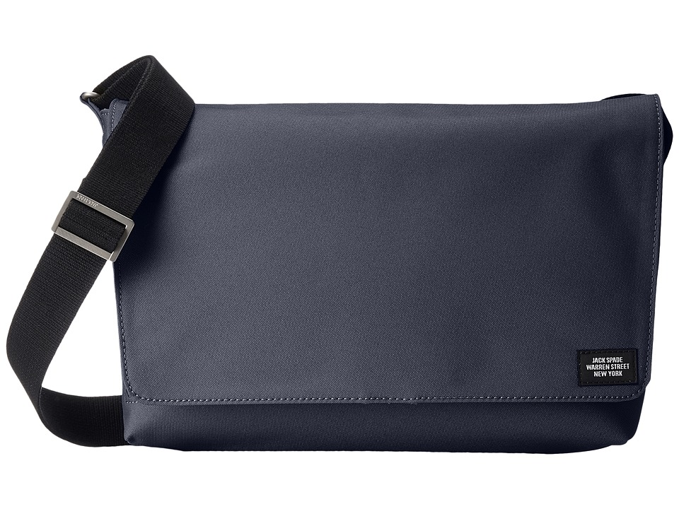 Jack Spade - Site Messenger (Navy) Messenger Bags
