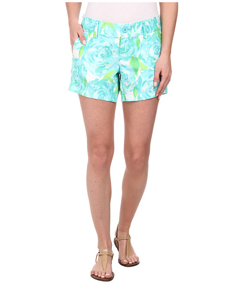 Lilly Pulitzer - Callahan Short (Poolside Blue First Impressio) Women's Shorts